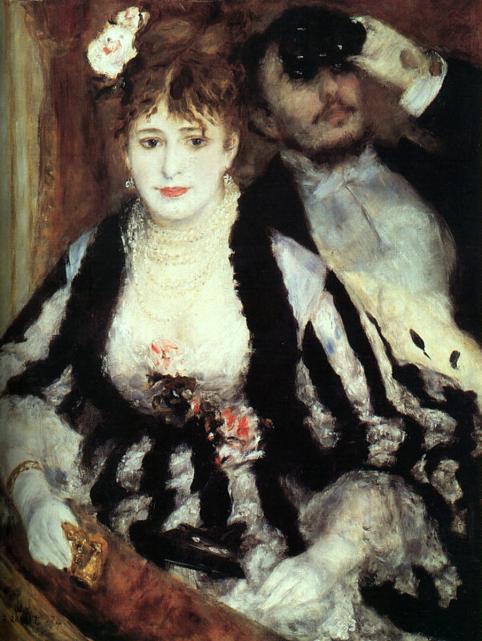 Renoir La Loge