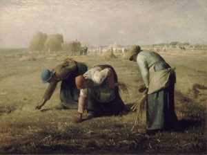 Jean Francois Millet The Gleaners 1857