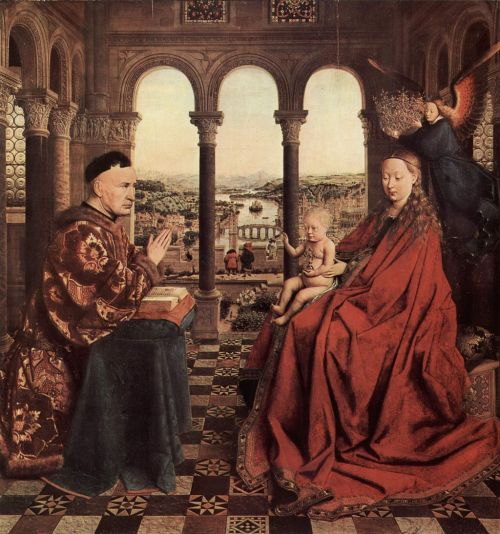 Jan van Eyck Chancellor Rolin